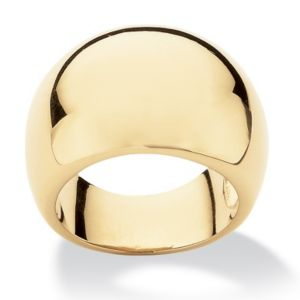 Dome Ring18K Gold-Plated