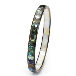 Abalone Mother-Of-Pearl Bangle