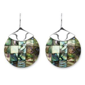 Abalone Mother-Of-Pearl Earrings