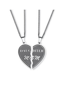 Daughter/Mom Pendants/Chains by PalmBeach Jewelry
