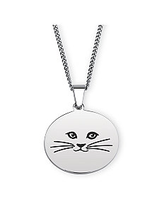 Cat Lady Pendant Necklace by PalmBeach Jewelry
