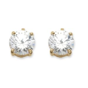 6 TCW Cubic Zirconia Earrings