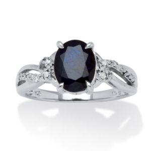 2.20 TCW Midnight Sapphire Ring
