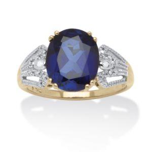 3.80 TCW Sapphire Ring