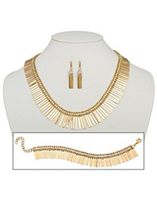 3 Piece Set Spray Jewelry by PalmBeach Jewelry