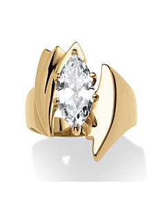 2.48 TCW Cubic Zirconia Ring by PalmBeach Jewelry