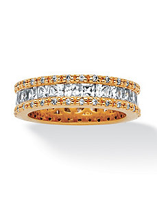 2.62 TCW Cubic Zirconia Ring by PalmBeach Jewelry