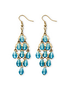 Birthstone Chandelier Earrings by PalmBeach Jewelry