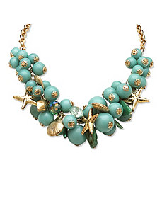 2 Piece Sea Life Jewelry Set by PalmBeach Jewelry
