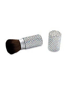 Crystal Retractable Make-Up Brush by PalmBeach Jewelry