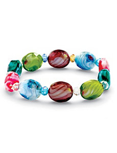 Kaleidoscope Stretch Bracelet by PalmBeach Jewelry