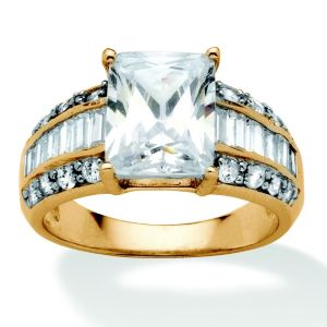 4.83 TCW Cubic Zirconia Ring