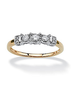 1/5 TCW Diamond Ring by PalmBeach Jewelry