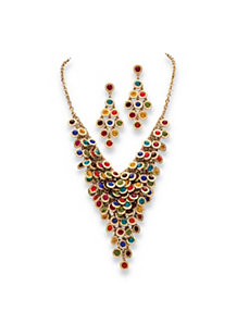 Multi-Color Crystal Jewelry Set by PalmBeach Jewelry