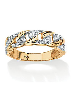 1/10 TCW Diamond Ring by PalmBeach Jewelry