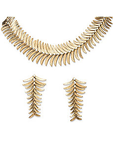 Fern Jewelry Set by PalmBeach Jewelry