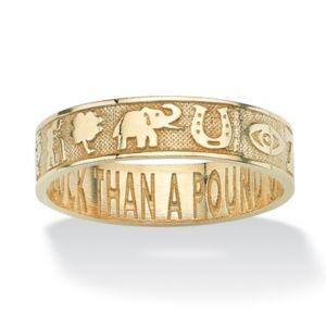 Lucky Symbols Ring