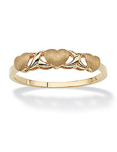 Love and Kisses Ring by PalmBeach Jewelry