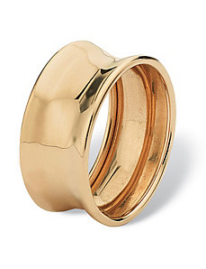 Concave Ring by PalmBeach Jewelry