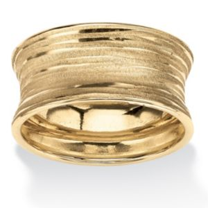 Concave Banded Ring
