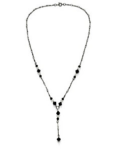 "Crystal""Y""Necklace 17"" by PalmBeach Jewelry"