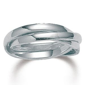 Silver Rolling Ring