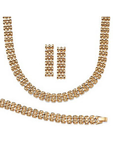 Panther 3-Piece Set by PalmBeach Jewelry