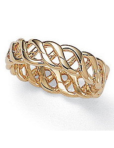 Braided Band by PalmBeach Jewelry
