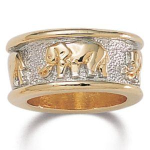 Tutone Elephant Ring