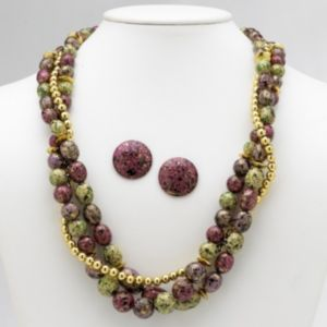 2-Piece Beaded Jewelry Set