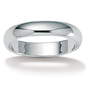 Silver Wedding Band