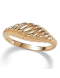 Classic Shrimp Ring by PalmBeach Jewelry