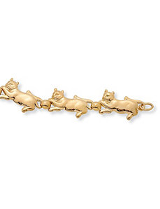 "Cat Bracelet 8"" by PalmBeach Jewelry"