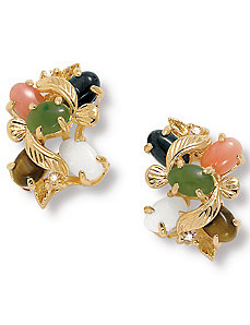 Multi-Stone Earrings by PalmBeach Jewelry