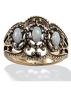Antiqued Opal Ring by PalmBeach Jewelry