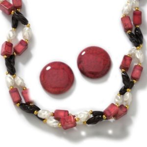2-Piece Sim. Multi-Colored Bead Set