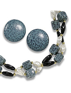 2-Piece Lucite Bead Set by PalmBeach Jewelry