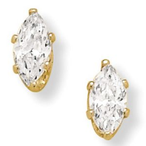2 CT.T.W. Cubic Zirconia Clip-on Earrings