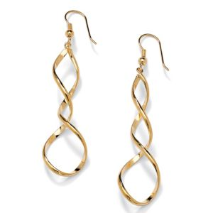 Loop Drop Pierced Earrings