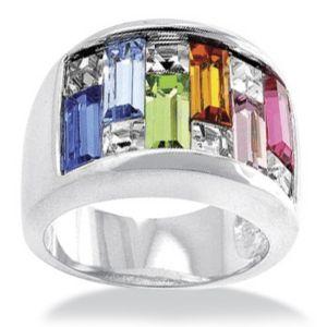 Silvertone Women's Ring