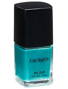 Turquoise Treasure nail color by Cacique