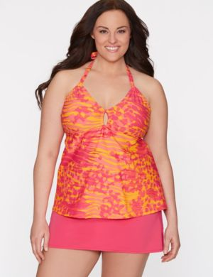 Mixed animal keyhole swim tank by COCOS Swim