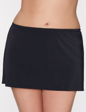 Side slit swim skirt