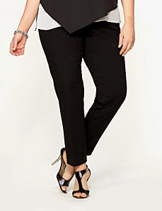 Lane Collection slim ponte trouser by LANE BRYANT