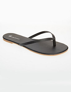 Strap flip flop by LANE BRYANT