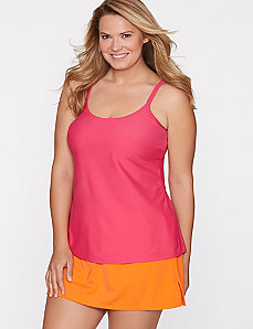 Scoop neck swim tank by COCOS SWIM by LANE BRYANT