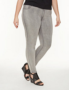 Reversible skinny ankle jean by LANE BRYANT