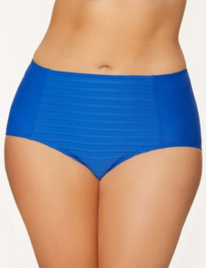 Pintuck Bikini Bottom