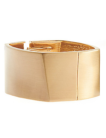 Square hinge bracelet by Lane Bryant