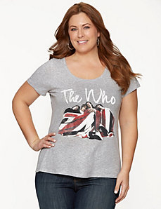 The Who graphic tee by LANE BRYANT